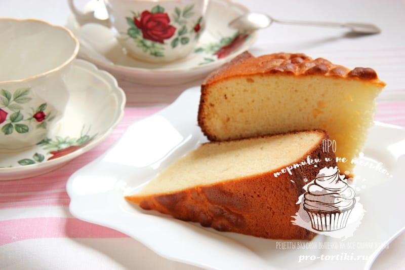 Пирог со сгущенкой и сметаной