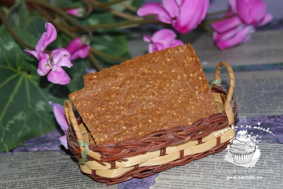 Хлебцы своими руками рецепт
