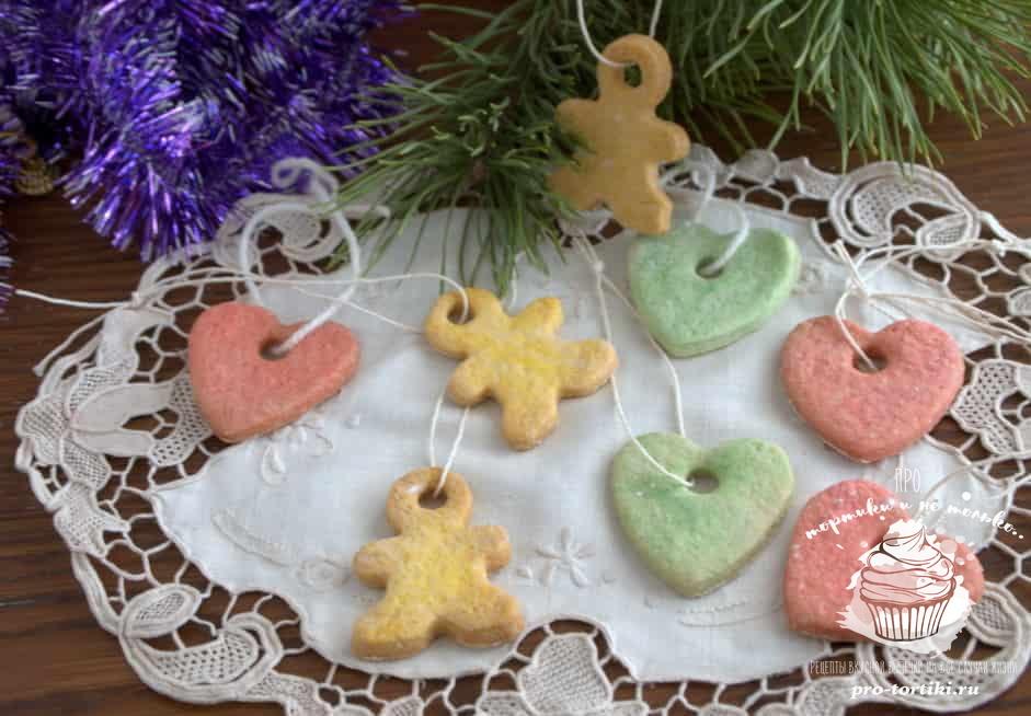 печенье на елку своими руками