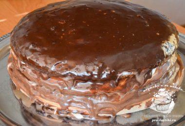 торт дамский каприз рецепт с фото
