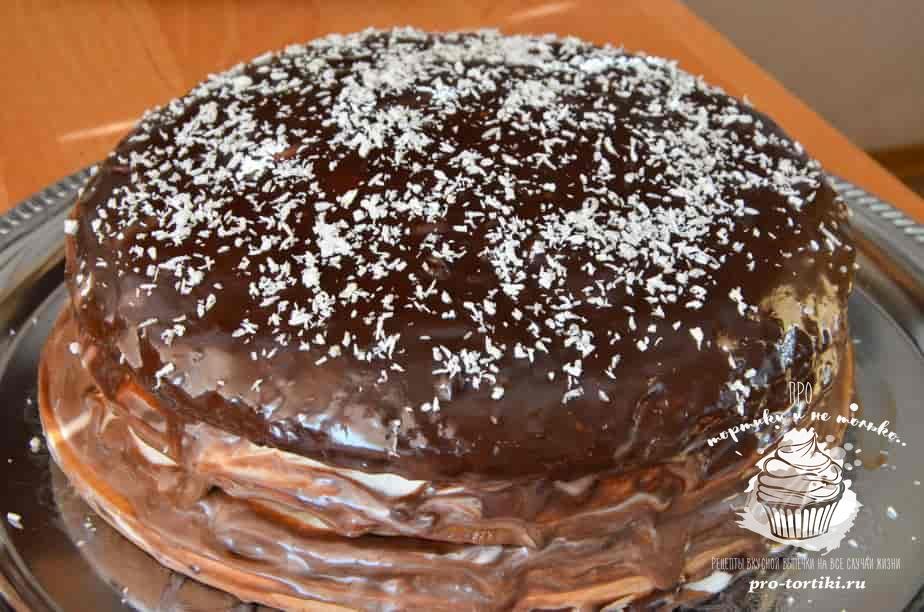 торт вкусный и нежный рецепт с фото с