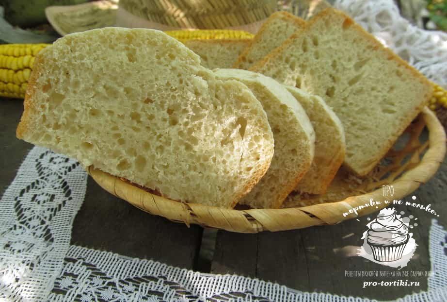 Хлеб из сухих дрожжей