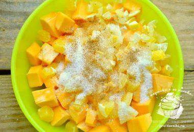 варенье из тыквы с апельсином