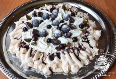 торт Павлова пошаговый рецепт с фото.