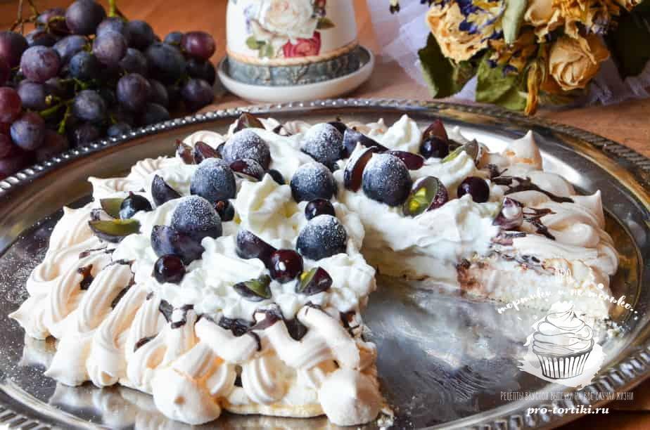 торт павлова пошаговый рецепт с фото