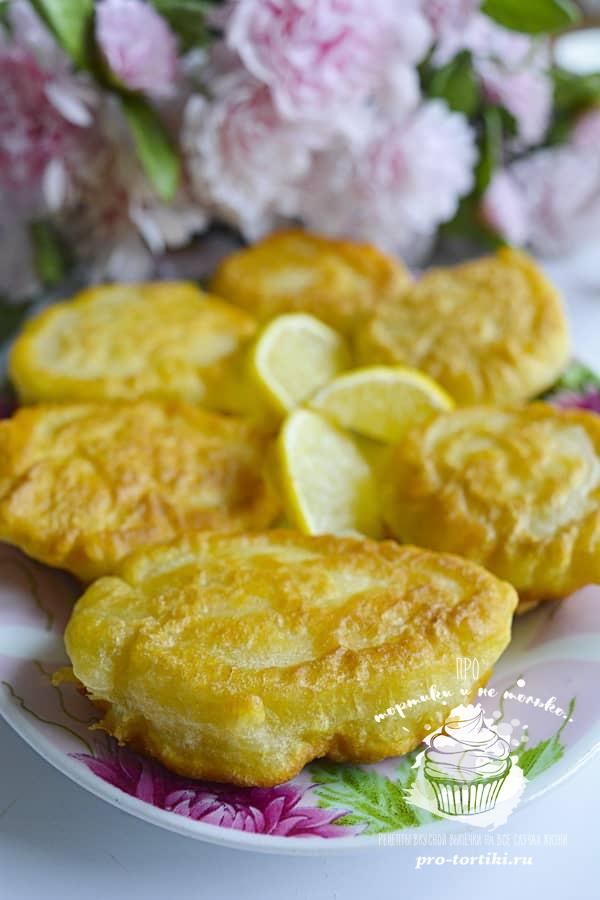 Оладьи с лимоном