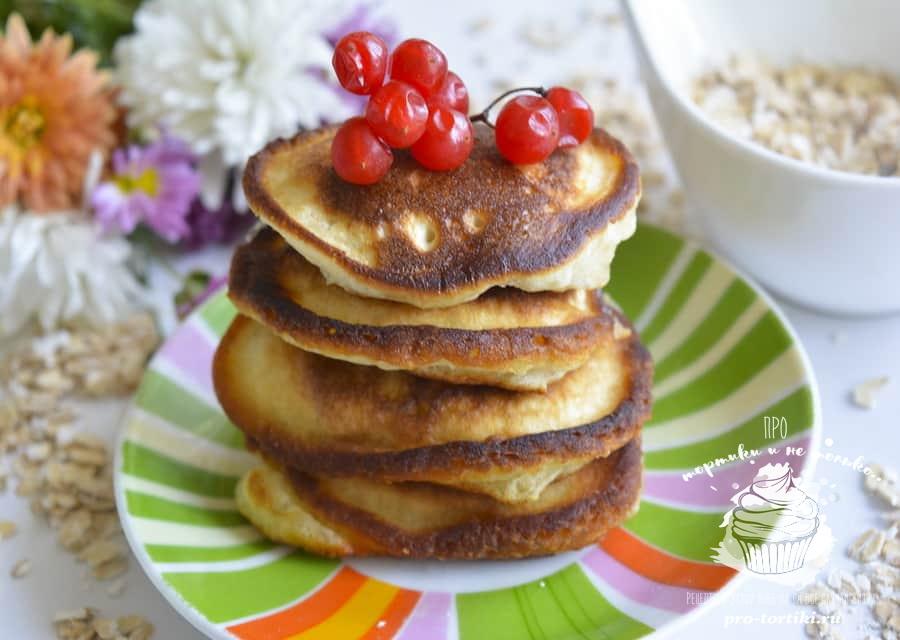 Как сделать оладушки с медом