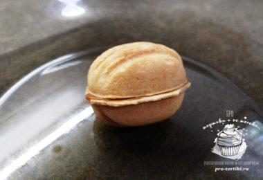 печенье орешки со сгущенкой