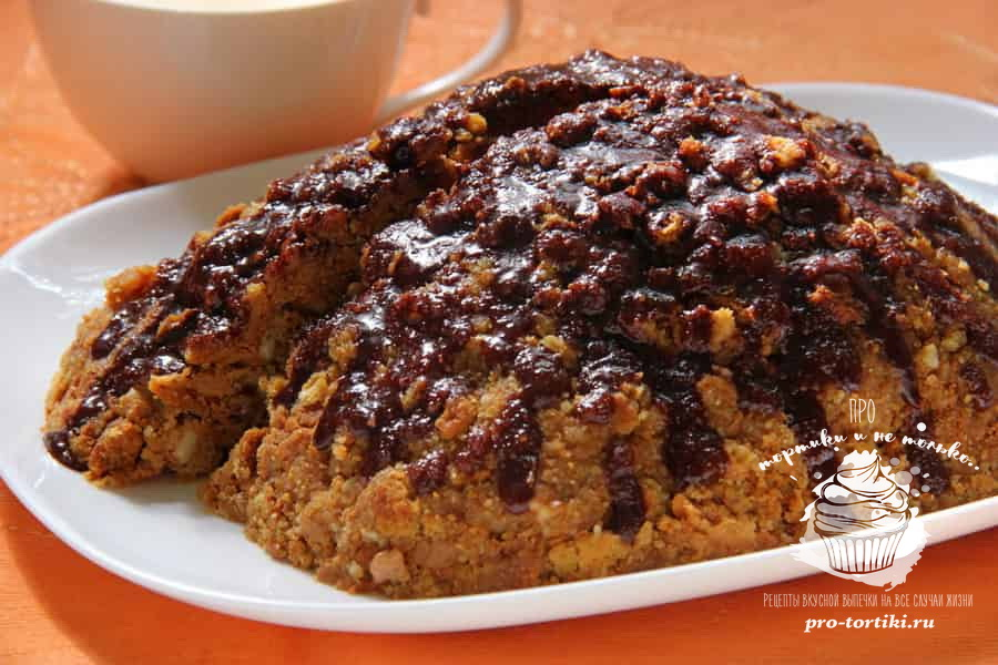 Домашний торт Муравейник