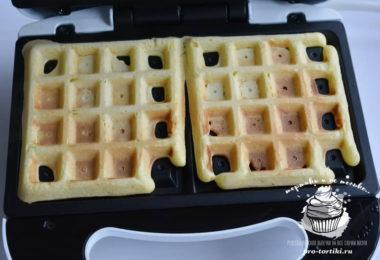 бельгийские вафли рецепт для электровафельницы
