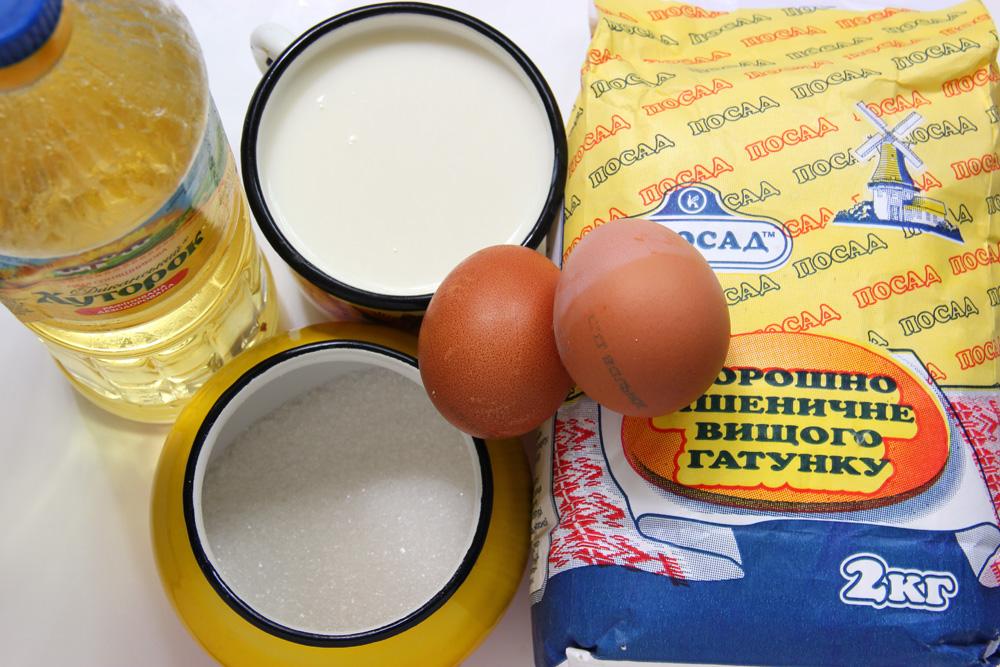 Проверенный рецептблинов на молоке